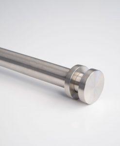 Infront gardinstång rostfritt stål från Hasta
