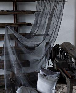 Gardin grå Slingra från Hasta