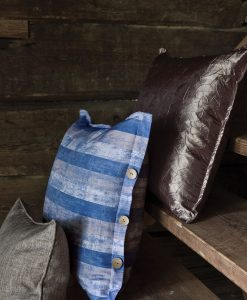 Kuddfodral kudde Hasta brun gammelträ