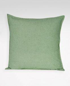 kuddfodral lina grön Hasta