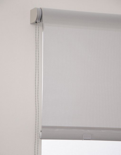 Rullgardin Screen ljusgrå