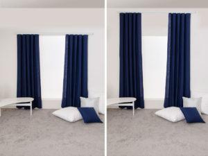 tips för att hänga gardiner