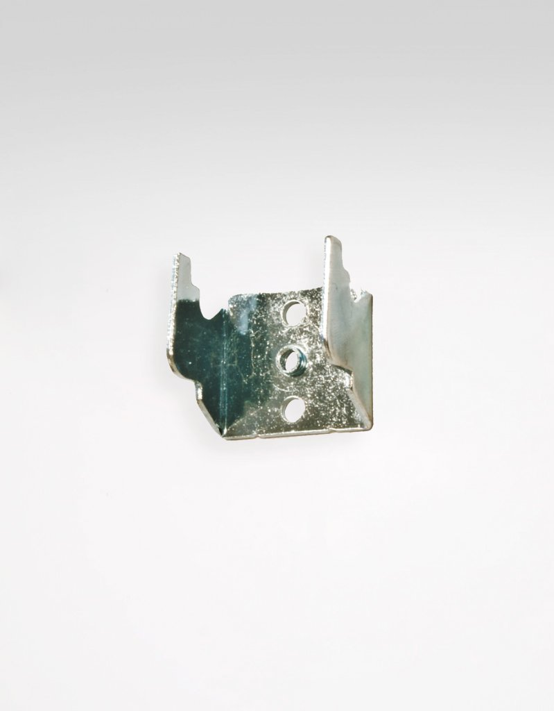 Väggfäste reglerbar gardinstång, metall inkl.skruv