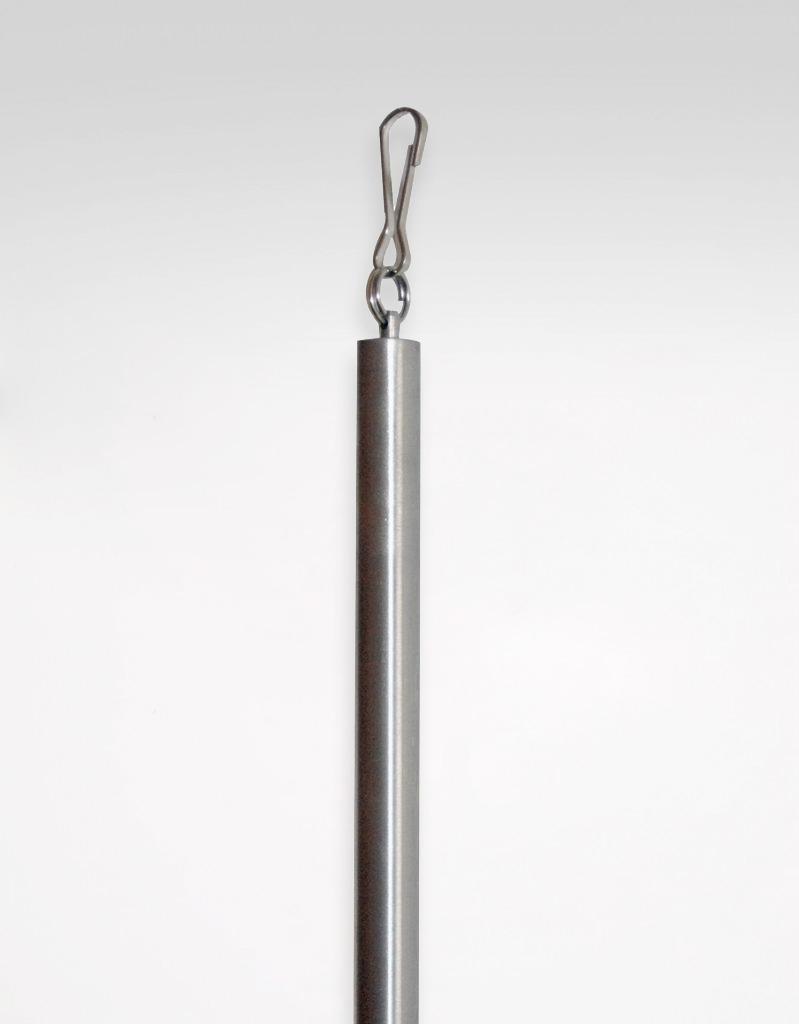 Dragstav, rostfritt stål HAsta