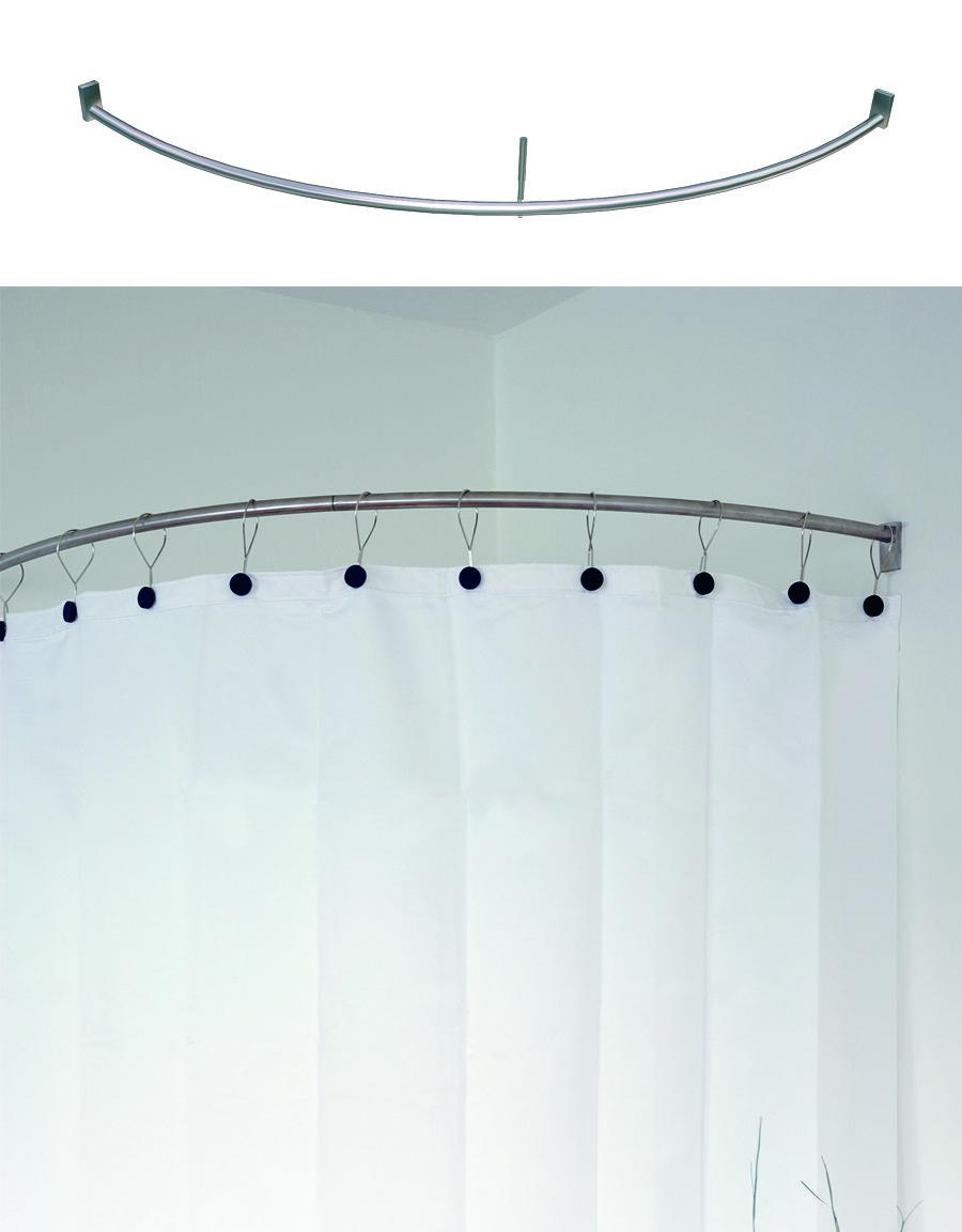 Duschbåge för duschhörn inkl.fästen och takpendel,Stål