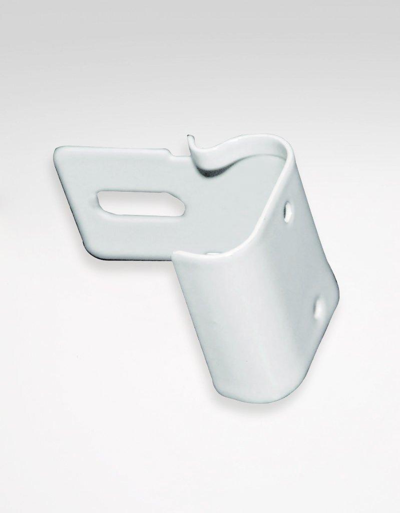 Tak-/skenfäste C-skena metall inkl.skruv