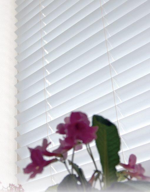 Persienn vit eller silver, alu 50 mm