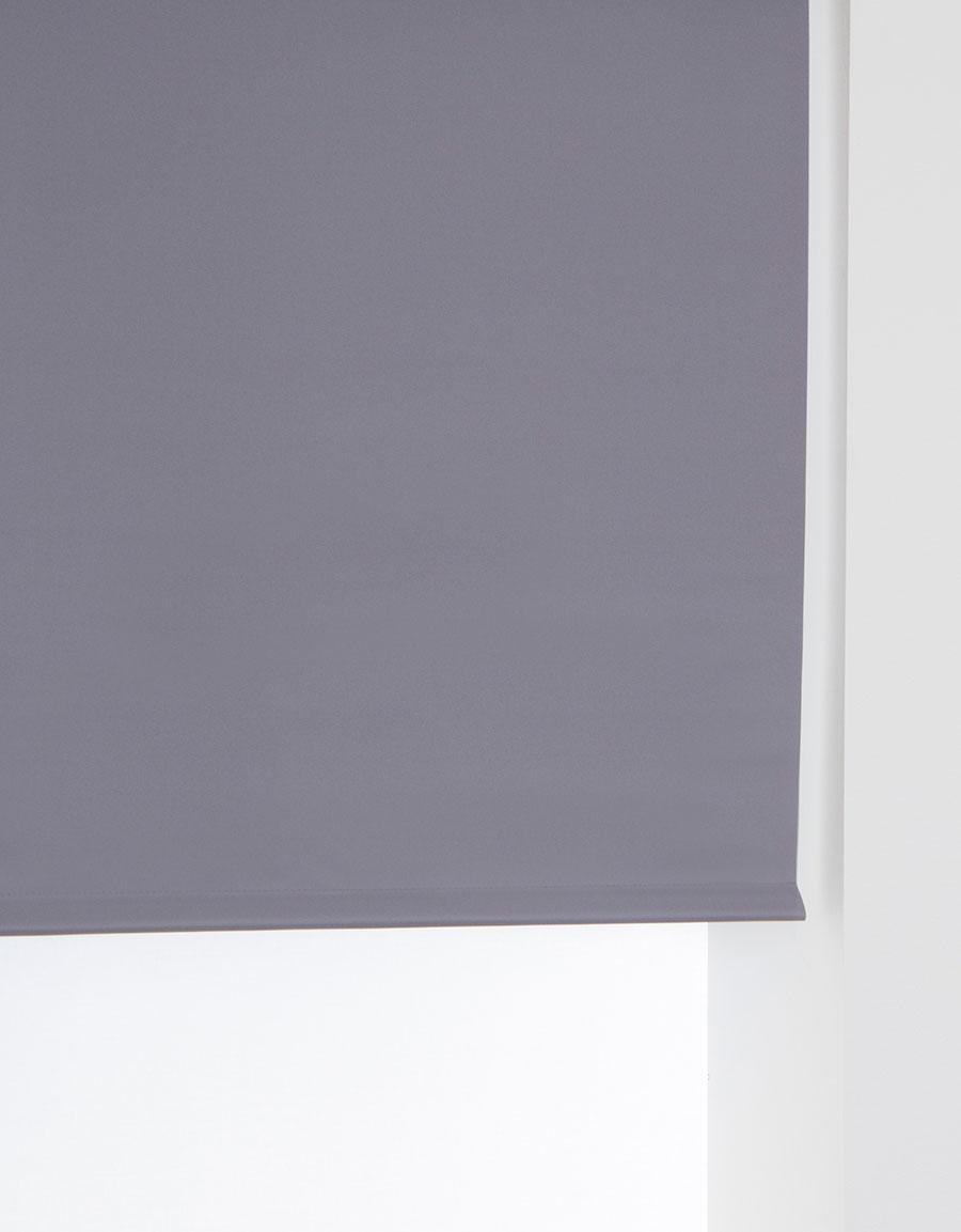 mörkläggande rullgardin grå