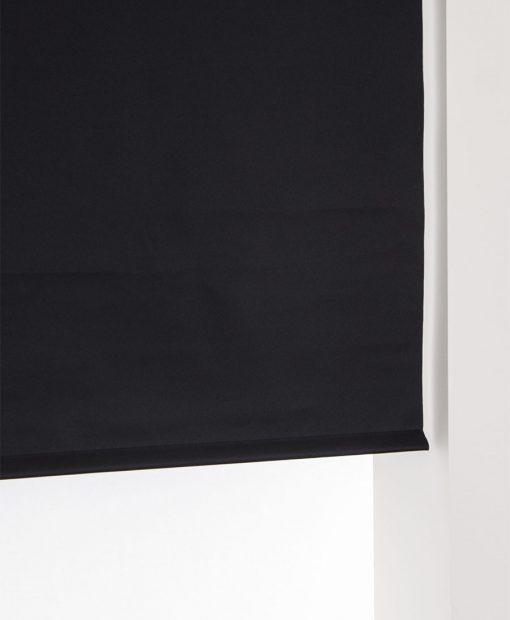 mörkläggande rullgardin svart