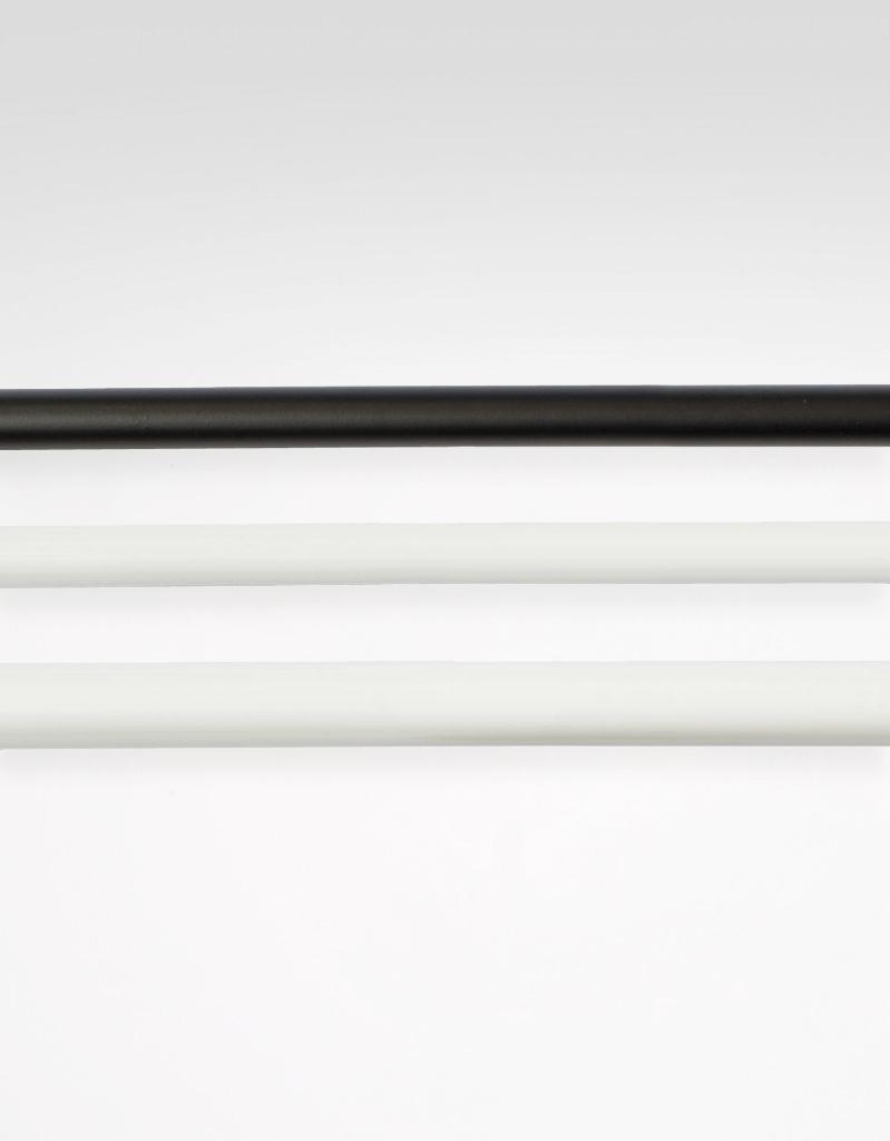 Gardinstång, reglerbar längd 130-240 cm Hasta