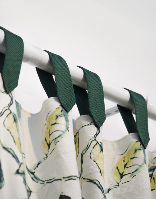 Bandupphäng för gardin, mörkgrön Hasta
