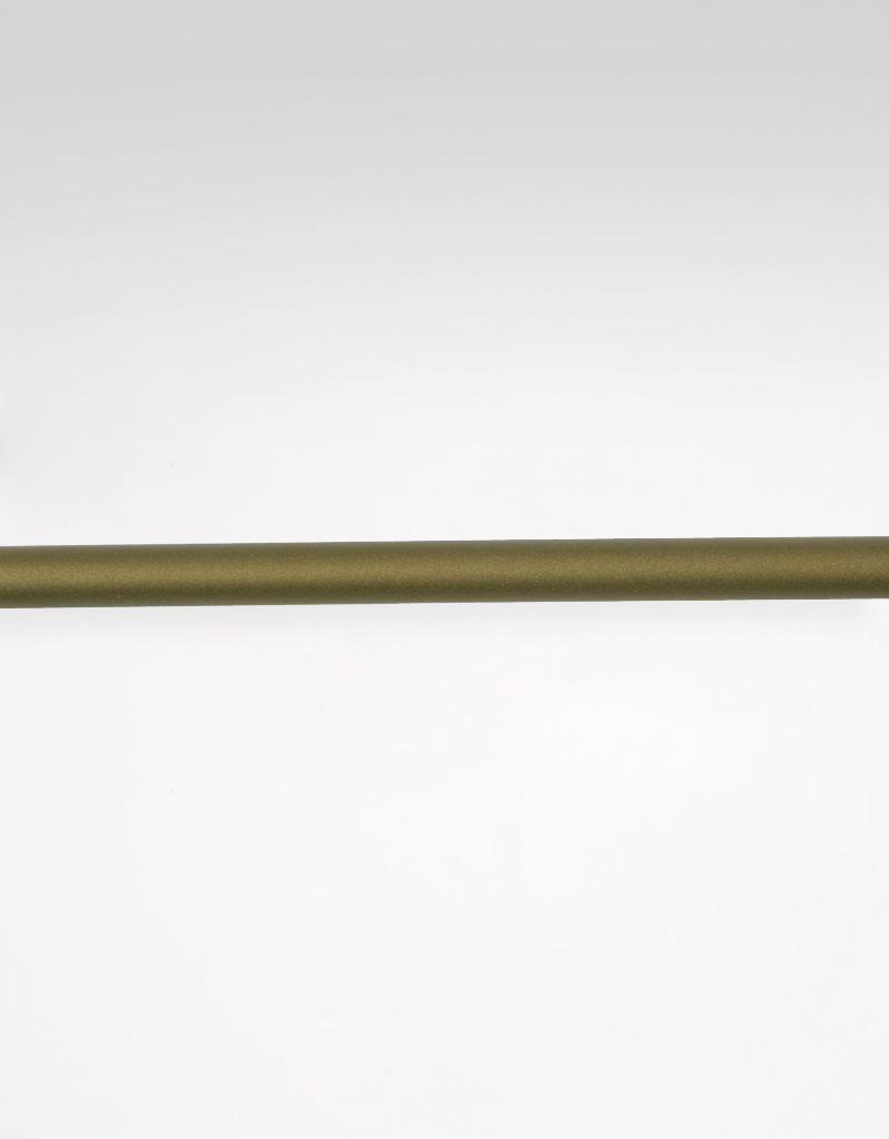 Gardinstång guldnougat 20 mm Hasta
