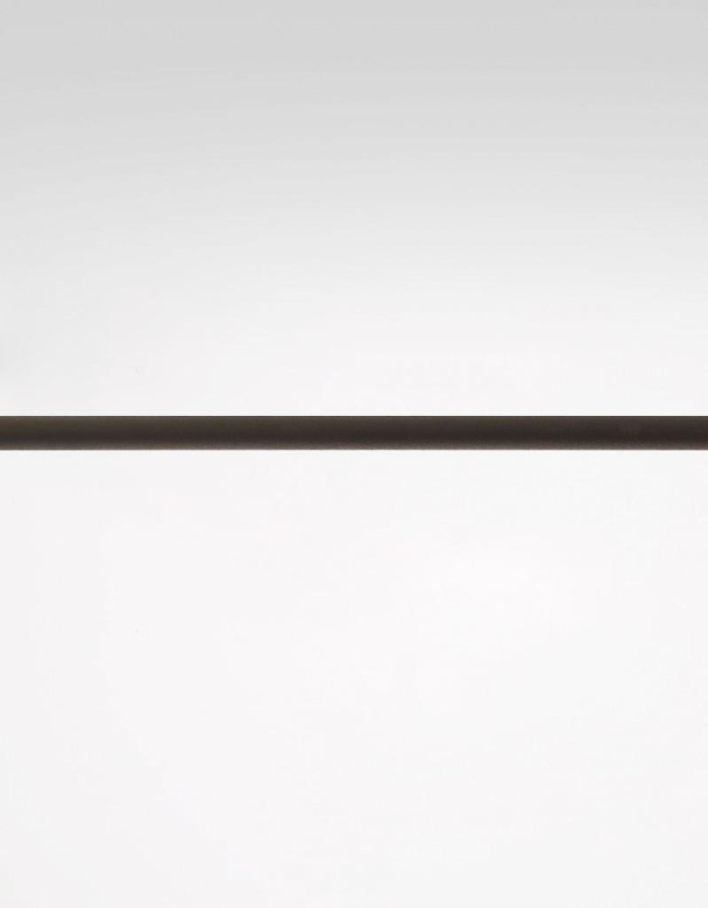 Gardinstång svart 13 mm Hasta