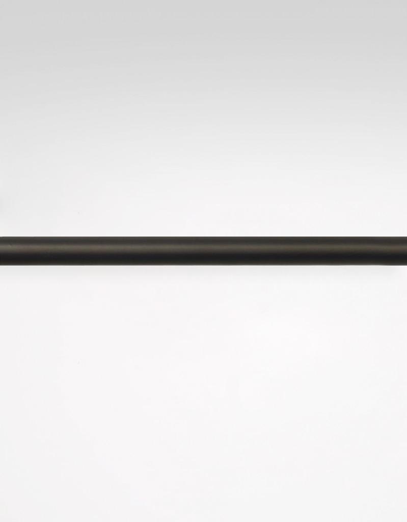 Gardinstång svart, 18/20 mm, reglerbar längd 130-240 cm Hasta