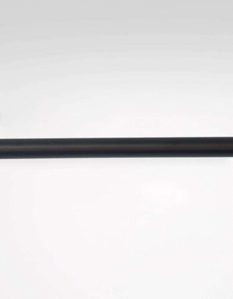 Gardinstång svart, 26/28 mm, reglerbar längd 130-240 cm Hasta