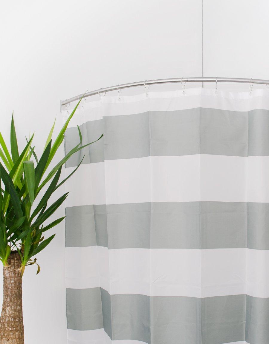 Duschdraperi Randigt Hasta