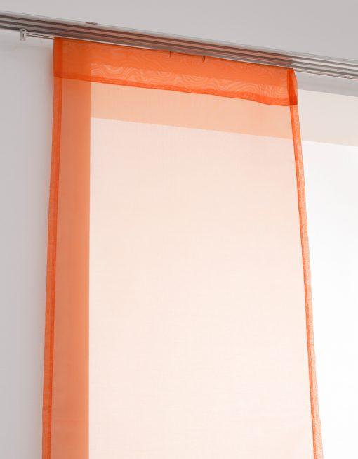 Panelgardin, orange, Hasta