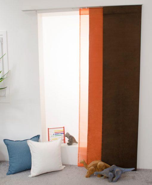Panelgardin Orange