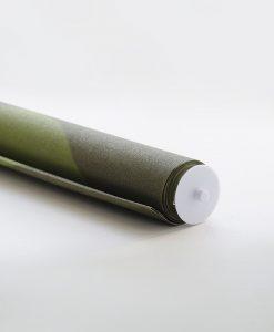 Rullgardin grön, måttillverkad, Hasta