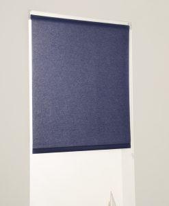 Rullgardin blå, måttillverkad, Hasta