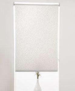 Rullgardin Marble, vit, måttillverkad, Hasta