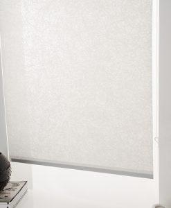 Rullgardin Cloud, vit, måttillverkad, Hasta