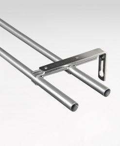 Panelstång Briljant, 11/13 mm, reglerbar längd 130-240 cm