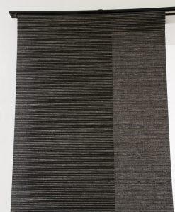 Panelgardin Alabaster, grå/svart, Hasta
