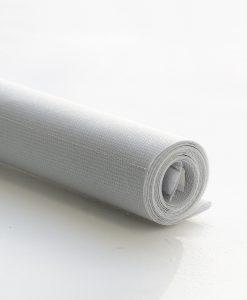 Panelgardin Zircon, grå, 45,5 cm, Hasta