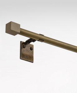 Gardinstång Guldnougat reglerbar