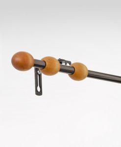 Gardinstång Briljant oval, 11/13 mm, reglerbar 90-240 cm
