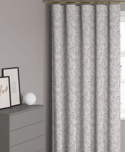 Måttillverkad gardin mörkläggande, Natural camoflauge, beige/ljusgrå