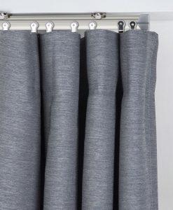 Gardinskena Bendable, vit eller ljusguld, 200 cm & 250 cm