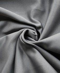 Flamskyddad gardin Luton, grå, måttillverkad