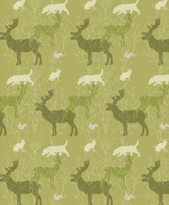 Rullgardin Fauna, grön