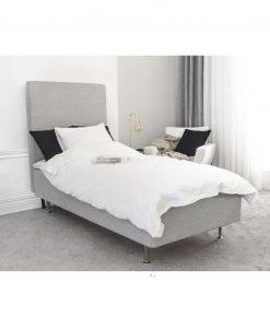 Ramsäng LECTUS First™, ljusgrå 90 cm, komplett paket