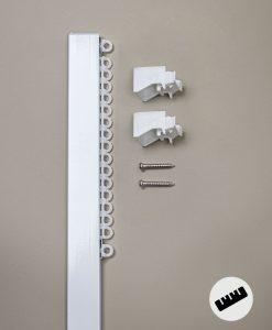 Gardinskena Alex, måttillverkad, takmonterad